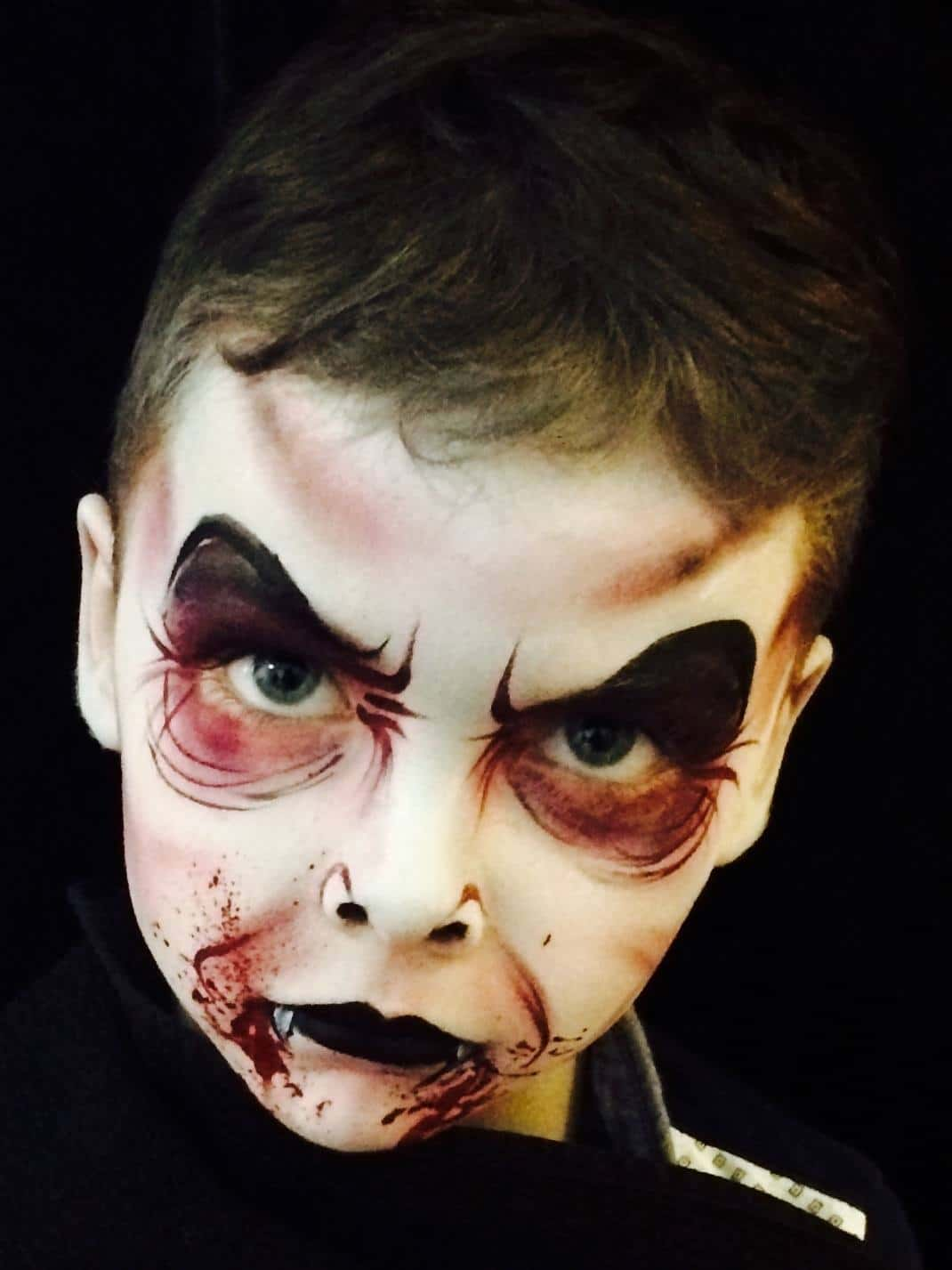 Children S Halloween Face Painting